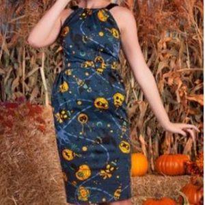 Pinup Couture Renee lantern dress wiggle Halloween